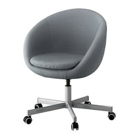 IKEA SKRUVSTA Swivel Chair in Grey
