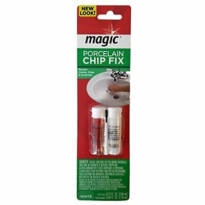 Magic Porcelain 2 Part Epoxy Chip Fix White