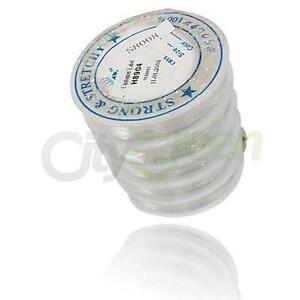 10pcs Roll Clear Elastic Stretch Beading String Cord Wire Jewelry Making