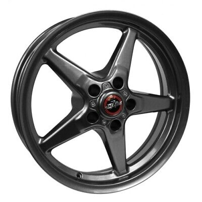 Race Star 92-795252G Wheel 17x9.5 92 Drag Star Bracket For GM Metallic Gray ()