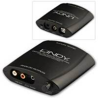 Lindy USB Digital to Analog Converter and Headphone Amp