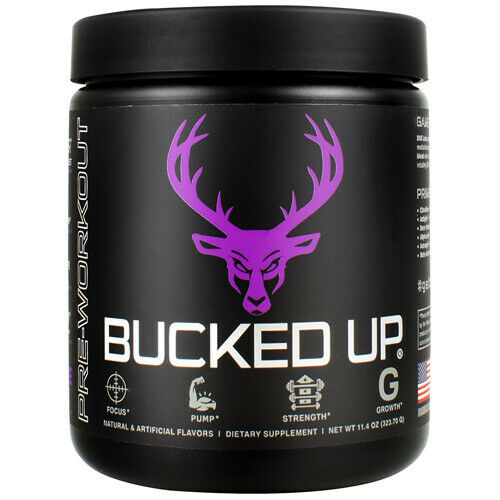 Bucked Up - Pre-Workout | 30 servings | DAS Labs Grape Gainz