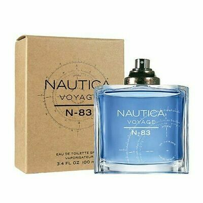 Nautica Voyage N-83 Cologne by Nautica, 3.4 oz EDT Spray for Men TESTER IN BOX