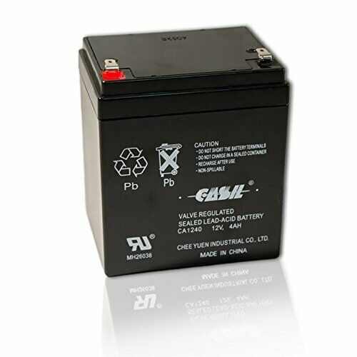 Casil Valve Regulated Sealed Lead-Acid Battery CA 1240 12V 4