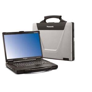 Panasonic Toughbook CF-52 15.4 Widescreen•500GB•Win7•DVD•MSOffic