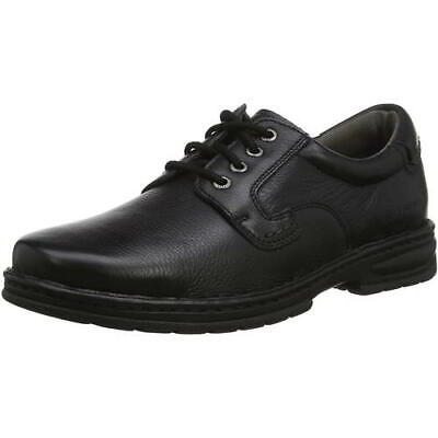 Hush Puppies Outlaw II Mens Black Dual Fit Lace Up Casual Shoes Size 8-12
