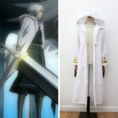 Used, D.Gray-man 3 HALLOW Crown Clown Allen Walker overcoat jacket Cosplay Costume for sale  China