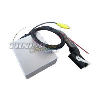 For VW Seat Skoda Reversing Camera Interface Cable Loom Adapter Module Rfk Radio