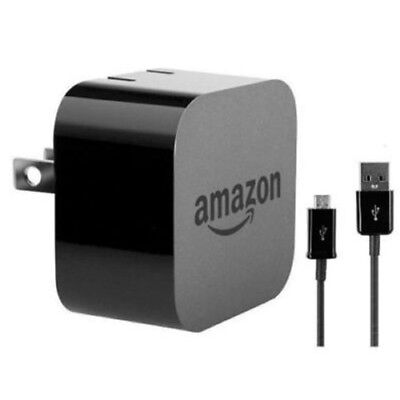 Amazon Charger Powerfast AC Adapter Wall charger + USB cable