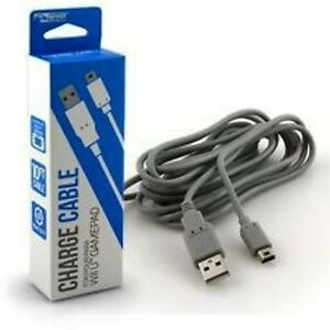 Usb Data Sync Charger Charging Cable Lead For Nintendo Wii