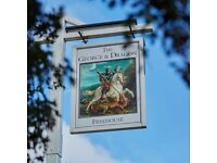 Kitchen Porter - Full or Part time - George and Dragon, Fordwich, Canterbury