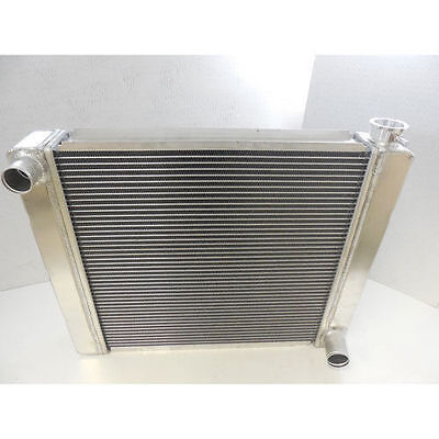 19 X 27 NEW ALUMINUM GM RACE RADIATOR , STREET, HIGH PERFORMANCE CHEVROLET CHEVY