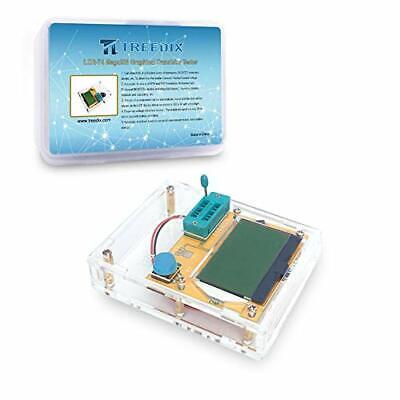 Treedix LCR-T4 Mega328 Graphical Transistor Tester Kit ESR Transistor Diode R...