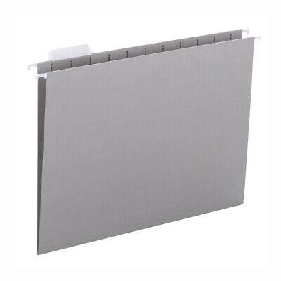 Hanging File Folders- Gray - Lot Of 50