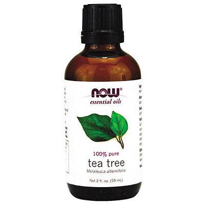 NOW Essential Oils - Tea Tree Oil - 2 fl. oz  by NOW