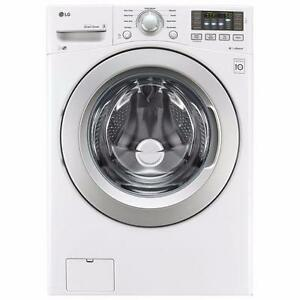 LG WM3270CW 5.2 Cu. Ft. High Efficiency Front Load Washer
