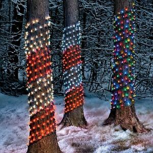 Lot of Christmas Ribbon Lights - Simply Beautiful!