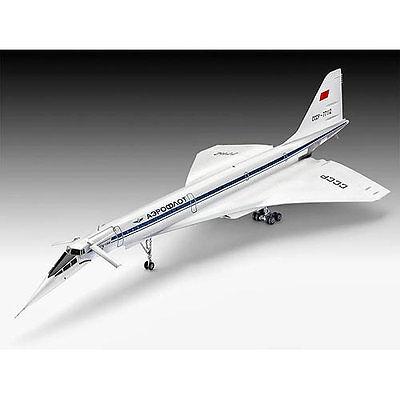 REVELL Tupolev Tu144 1:144 Aircraft Model Aeroplane Kit - 04871