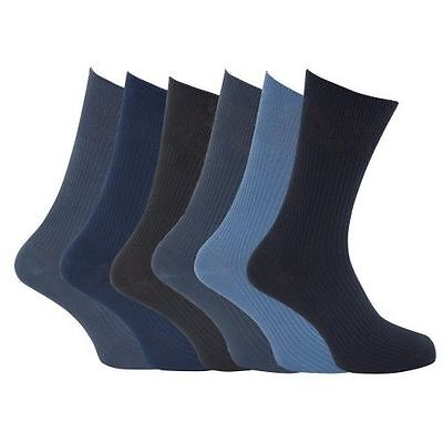 z Größe 45 46 47 48 100% Baumwolle Große Füße Blau Grau (Herren Großen Füßen)