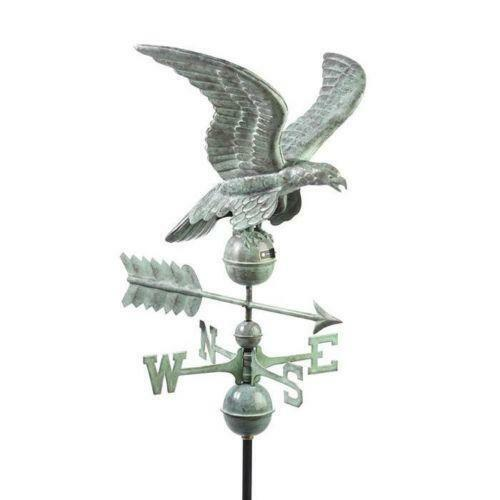 Vintage Weather Vane: Antique Eagle Weathervane