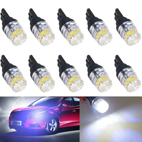 2X T10 T15 SMD 5050 Bright LED Car Vehicle Side Tail White Light Lamp Bulb Hot