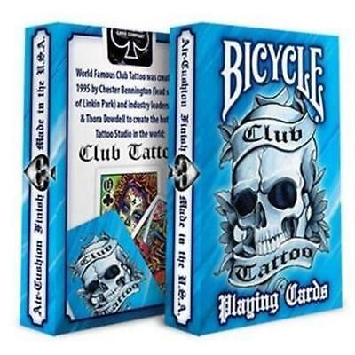 ying Cards Premium Artwork Poker Magic (Blue Magic Tattoo)