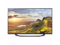 40 INCH LG UF675V 40 Inch 4K Ultra HD Freeview HD LED TV. REFUBISHED WITH A 6 M0NTHS WARRANTY