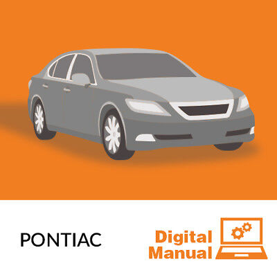 Pontiac   Service And Repair Manual 30 Day Online Access