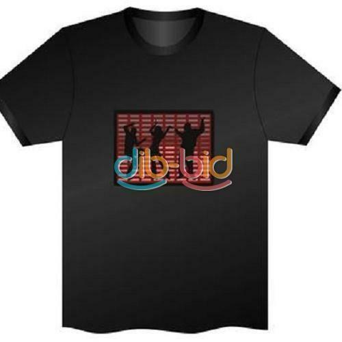 0fd29db66 Sound Activated T Shirt