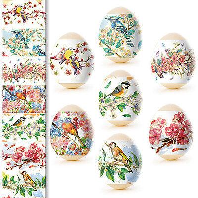 Thermo Heat Shrink Sleeve Decoration Easter Egg Wraps Pysanka Pisanki Aquarelle (Easter Egg Decoration)