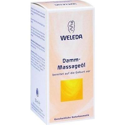 WELEDA Damm Massageöl 50ml PZN 1830531