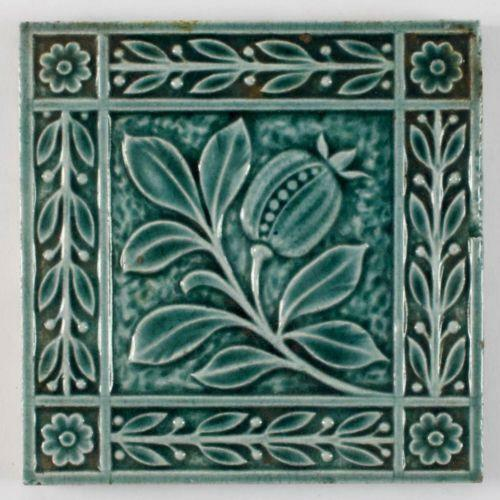 Arts and crafts tile ebay for Arts and crafts floor tile