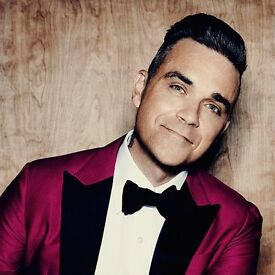 Robbie Williams June 23rd Seated section 202 £120 for both seated beside each other