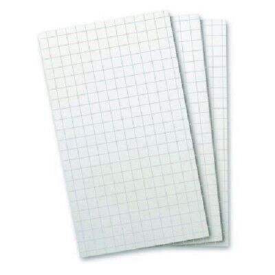 8393 - Wellspring Flip Note Pad Refill White Graph Paper 3 Pack - Great