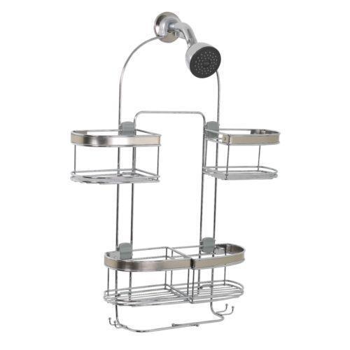 Stainless steel shower caddy ebay - Bathroom corner caddy stainless steel ...