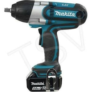 "Makita 18V 1/2"" Cordless Impact Wrench"