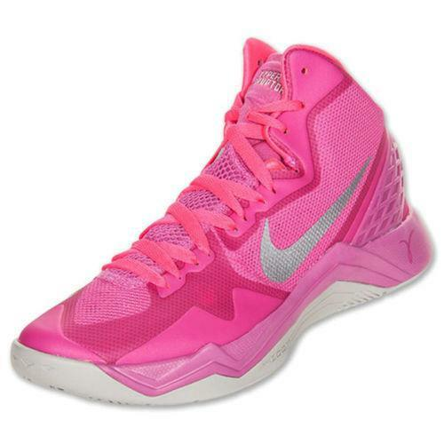 nike pink basketball shoes ebay