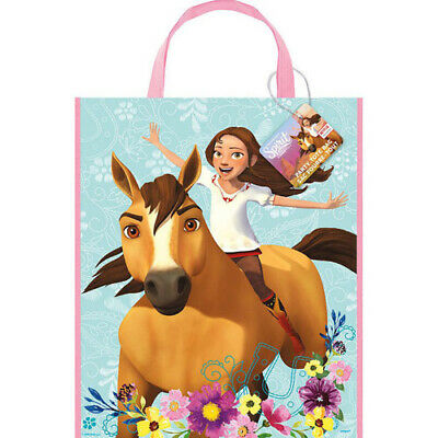 SPIRIT RIDING FREE PLASTIC TOTE BAG ~ Birthday Party Supplies Goody Gift Favor