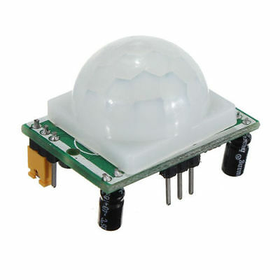 Hcsr501 Hc-sr501 Adjustable Pyroelectric Infrared Pir Motion Sensor Module