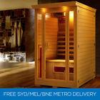 Wood Panel 1-3 Infrared Sauna Saunas