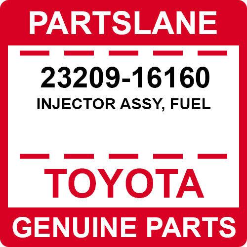 23209-16160 Toyota Oem Genuine Injector Assy, Fuel