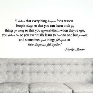 Wall Stickers Quotes Vinyl Wall Decals Ebay