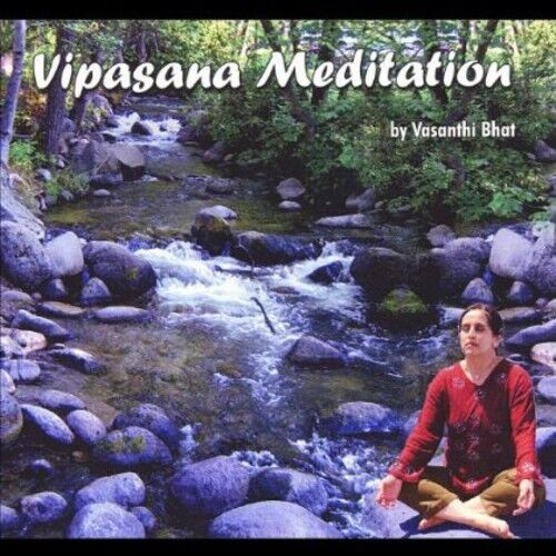 Vasanthi Bhat - Vipasana Meditation [New CD]