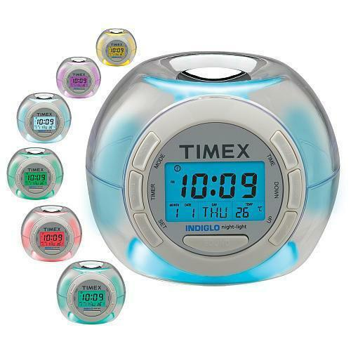 soothing sounds alarm clock and sound machine