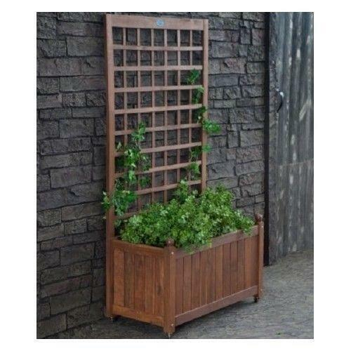Planter Boxes Made From Composite Decking All Kind Of Wpc: Deck Flower Box