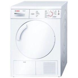 Bosch Classix WTE84106GB Free Standing White 7kg Condenser Tumble Dryer