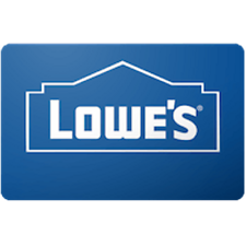 Lowes Gift Card $25 Value, Only $23.85! Free Shipping!