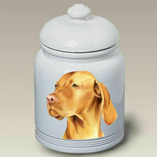 Vizsla Ceramic Treat Jar BVV 23052