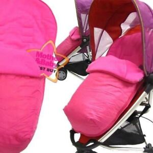 Pink Footmuff To Fit Quinny Zapp Buggy And Petite Star Zia Buggy.