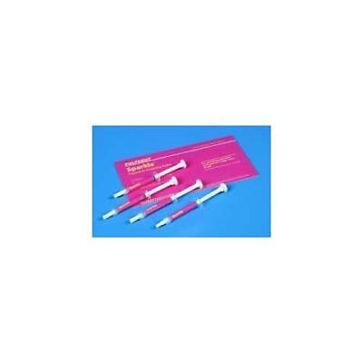 Pulpdent Spark Sparkle Diamond Polishing Paste Dental Syringes 4pk
